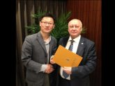 Implementing the Internationalisation of Higher Education – Rector's dr. G. Bražiūnas and Dean's of the Faculty of Electronics and Informatics dr. R. Tumasonis visit to China